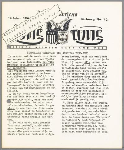 American Tong Tong 1965-02-14
