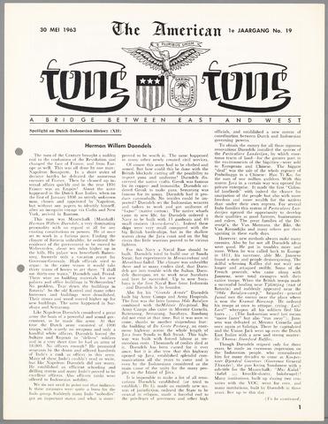 American Tong Tong 1963-05-30