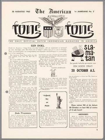 American Tong Tong 1962-08-30