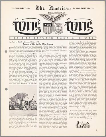 American Tong Tong 1963-02-15