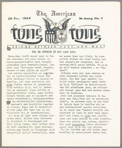 American Tong Tong 1964-12-30
