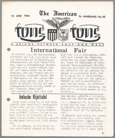 American Tong Tong 1964-06-15