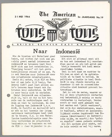 American Tong Tong 1964-05-31