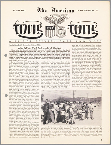 American Tong Tong 1963-07-30