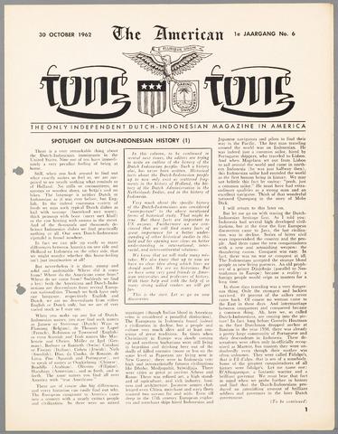 American Tong Tong 1962-10-30