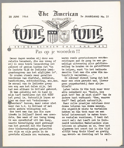 American Tong Tong 1964-06-30