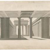 Presentatietekeningen van de Koopmansbeurs te Amsterdam (J.D Zocher, 1841-45)