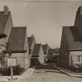 Foto Landbouwstraat en Schoffelstraat in Oost Watergraafsmeer (Amsterdam)