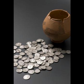 Een Romeinse muntschat