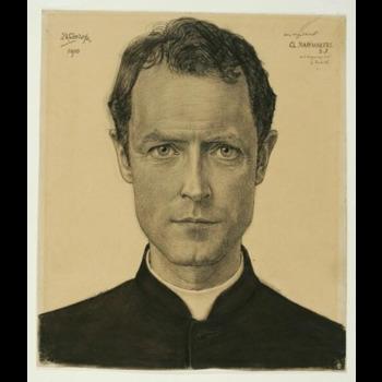 Een tekening van Jan Toorop