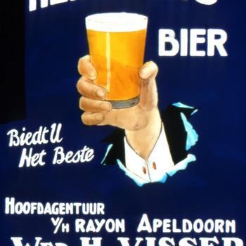 Affiche Heineken's bier