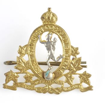 baret insigne Royal Canadian Corps of Signals