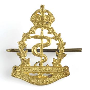 baret insigne Royal Canadian Army Medical Corps