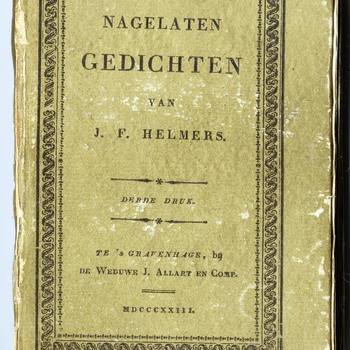 Nagelaten gedichten van Jan Frederik Helmers