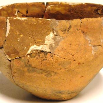 Urn, gevonden in een grafheuvel in Dabbelo