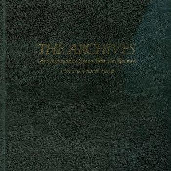The archives : art information centre Peter van Beveren