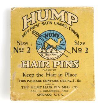 doosje met haarspelden 'Hump Hair Pins'
