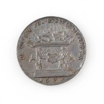 Vrede van Rijswijk in 1697.