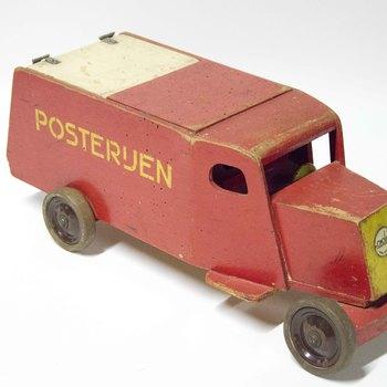 Posterijen - PTT auto