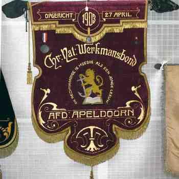 Vaandel Chr. Nat. Werkmansbond