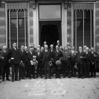 Honderdjarig bestaan kanaal Apeldoorn-Hattem 31 juli 1929