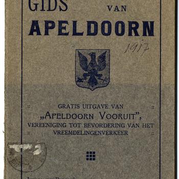 Gids van Apeldoorn : gratis uitgave van 'Apeldoorn Vooruit', vereeniging tot bevordering van het vreemdelingenverkeer