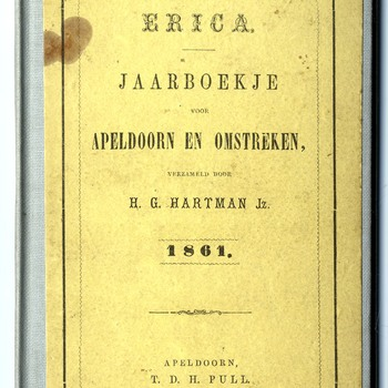 Erica jaarboekje voor Apeldoorn en omstreken : jaargang 1861