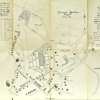 Veilingkaart van de Gemeente Apeldoorn, sectie H (De Parken)