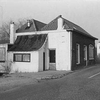 Bistro Belvedere op de Ophemertsedijk te Tiel, circa 1990