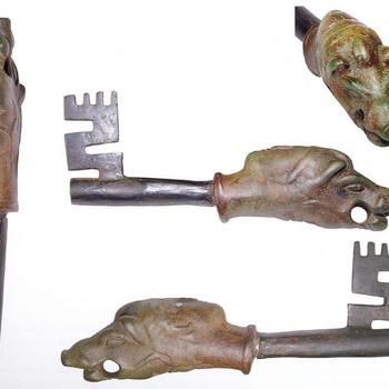 Sleutel van brons en ijzer, Romeins, 200-300