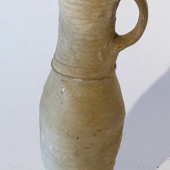 Kruik van aardewerk, 1350-1400