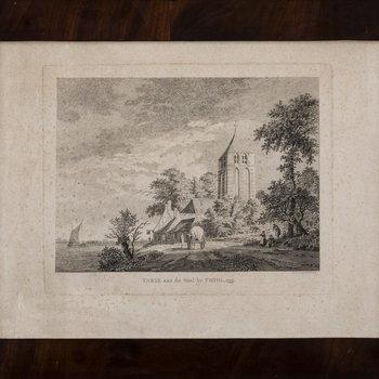 Ets, voorstellende het dorp Varik, vervaardigd door Paulus van Liender te Utrecht, 1759