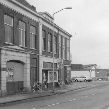 De sloop van Zandwijk, het pand van taxi Briene