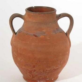 Kruik, amfoor, van aardewerk, 50-150