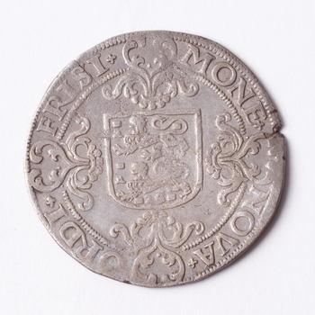 Munt van zilver, Snaphaan Schelling, geslagen bij de Provinciale muntslag Friesland te Leeuwarden, 1582,  werktitel