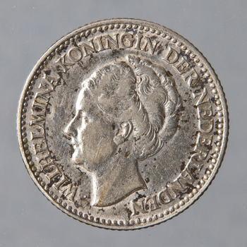 Munt van zilver, 1/2 gulden uit 1930