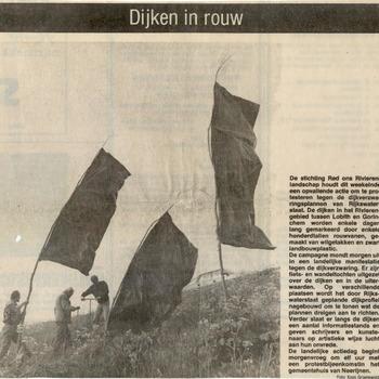 Rouwvanen aan de dijk, 1991