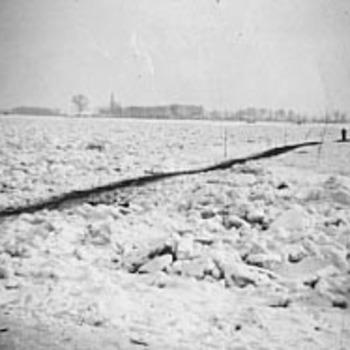 IJspad over de Waal bij Tiel, 1939-1940