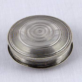 Pillendoos van zilver, 1815,  werktitel