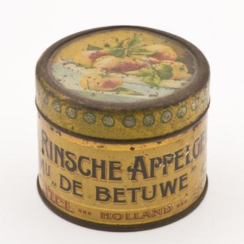 """Jamblik Mij """"de Betuwe"""" gebruikt voor rinsche appelgelei,  werktitel"""
