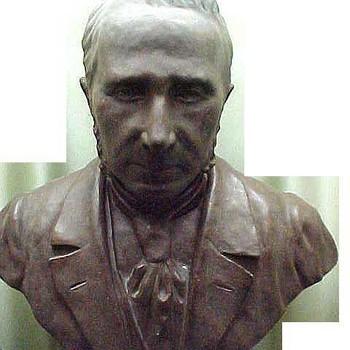 Buste van brons, voorstellende J.N.Daalderop te Tiel, vervaardigd door Meine Huisenga te Tiel, 1900-1910,  werktitel