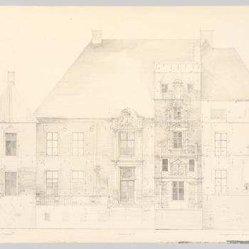 Opmetingstekening kasteel Cannenburch