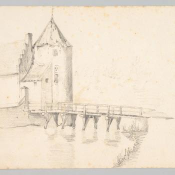 De toren van kasteel Wadestein