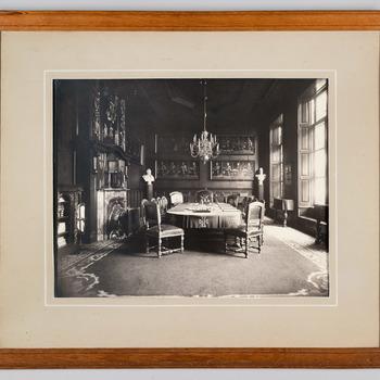 Foto van het interieur van de vergaderzaal van de Duitsche Orde