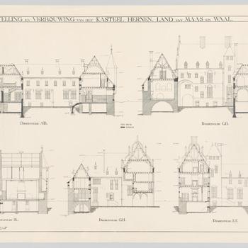 Ontwerp voor kasteel Hernen