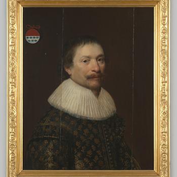 Portret van een man uit het geslacht Torck