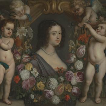 Portret van Anna van Renesse