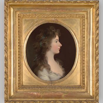 Portret van Elisabeth Adolfine Anne Alexandrine Torck