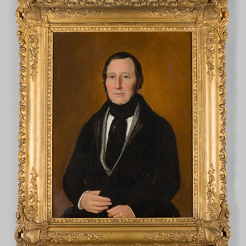 Portret van Fredericus Carolus Theodorus baron d'Isendoorn à Blois