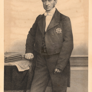 Portret van Schelte baron van Heemstra